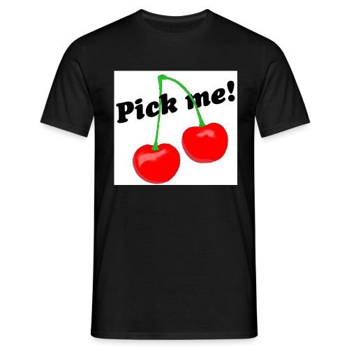 pick me - Männer T-Shirt
