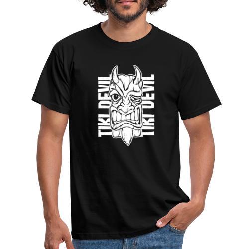 tiki devil - Männer T-Shirt
