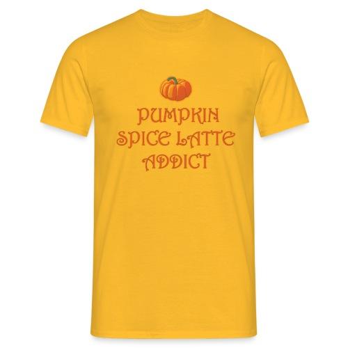 PumpkinSpiceAddict - Maglietta da uomo