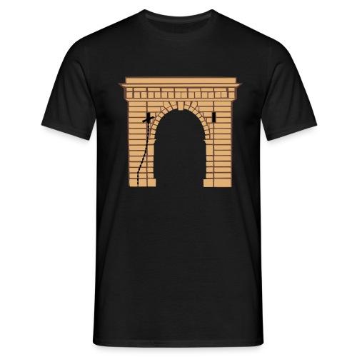 villefranche de conflent, port de france - Männer T-Shirt