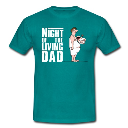 bester Papa - Superdad - Daddy of the year - Männer T-Shirt