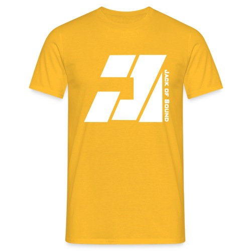 jack of sound logo small incl text - Mannen T-shirt