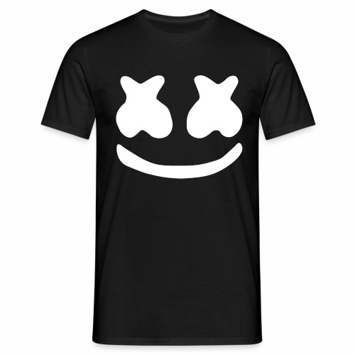 Marshmello logo - Mannen T-shirt