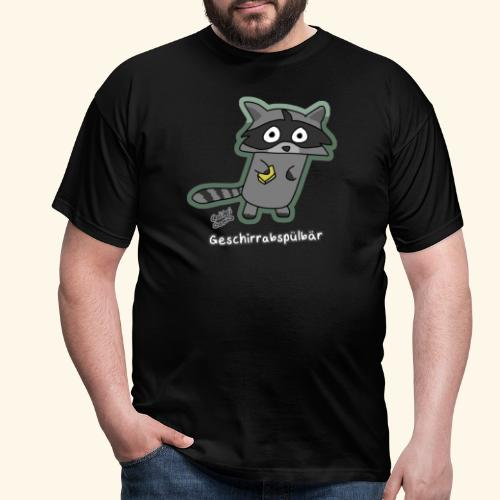 Geschirrabspülbär - Männer T-Shirt