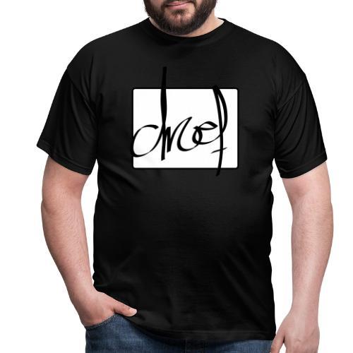 Droef.Gent logo zwart - Mannen T-shirt