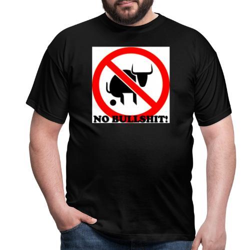 no bullshit 2 - T-skjorte for menn