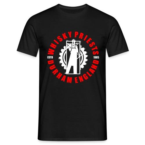 IRON MAN LOGO RED WHITE TRANS - Men's T-Shirt