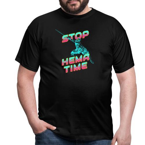 Stop, HEMA Time! - Männer T-Shirt