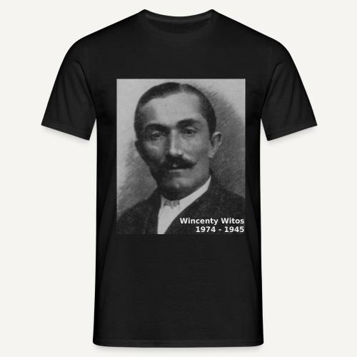 witos napis - Koszulka męska