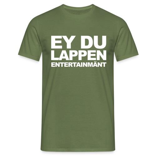 Standart EDL logo schwarz - Männer T-Shirt