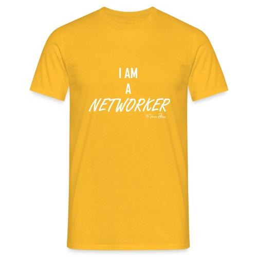 I AM A NETWORKER - T-shirt Homme