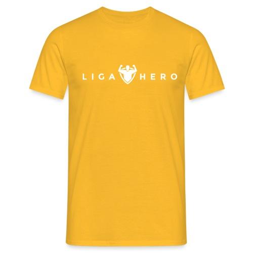 tshirt logo white png - Männer T-Shirt