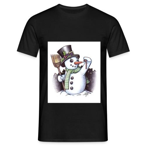 bonhomme de neige - T-shirt Homme