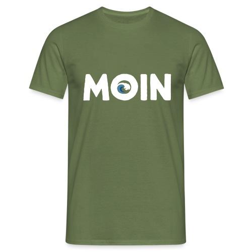 Moin Welle Ahoi Meer maritim Geschenk - Männer T-Shirt