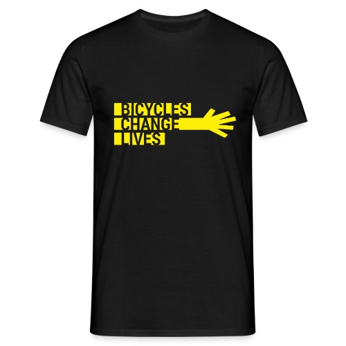 BCL Yellow Hand - Men's T-Shirt
