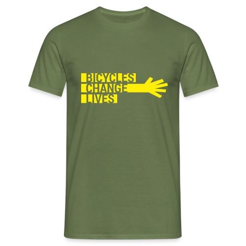 BCL Yellow Hand - Men's T-Shirt