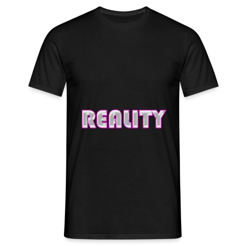 REALITY Pink - Men's T-Shirt