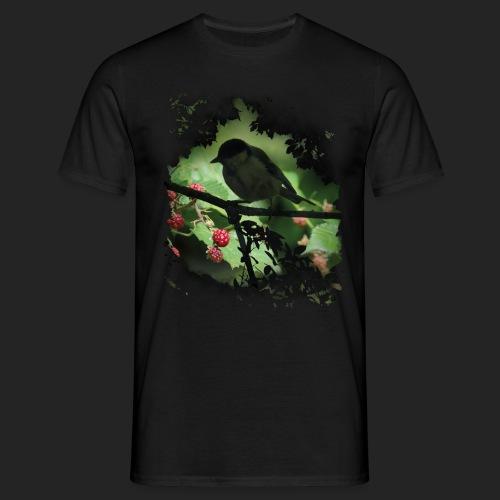 Petit oiseau dans la forêt - T-shirt Homme