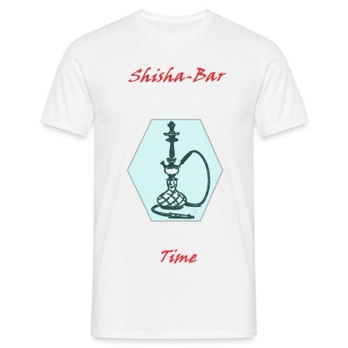 Shisha Bar Time - Men's T-Shirt