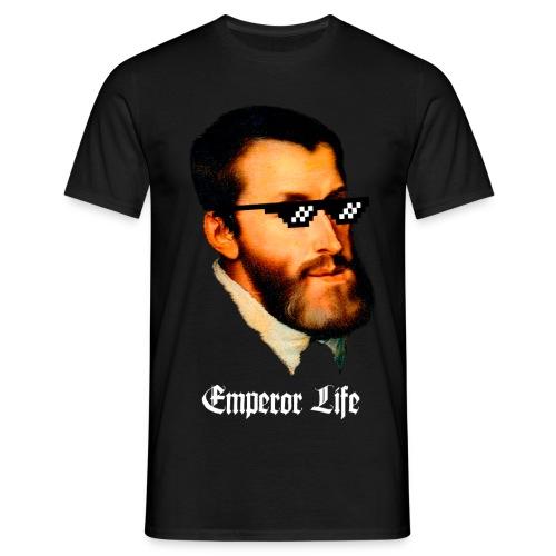 Carlos I y V de Alemania (Emperor Life) - Camiseta hombre