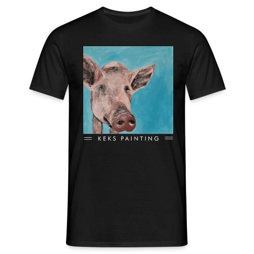 Keks und Blauschwein - Männer T-Shirt