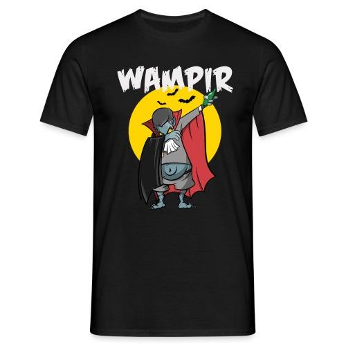 Wampir - lustiges Vampir Bierbauch Fun T-Shirt - Männer T-Shirt