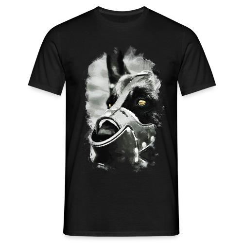 Hundekopf - Männer T-Shirt