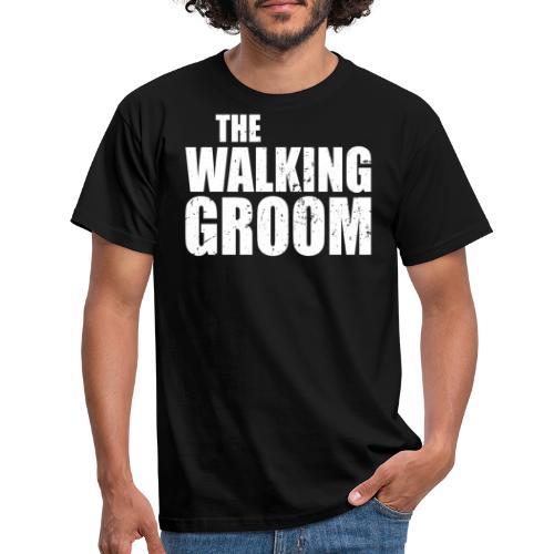 The walking groom Bräutigam Junggesellenabschied - Männer T-Shirt
