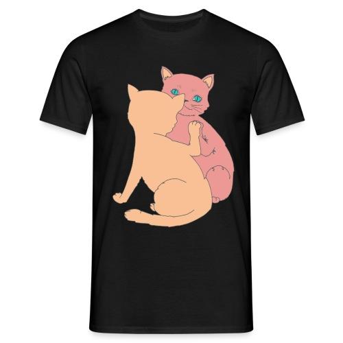 Le chat et le miroir - T-shirt Homme