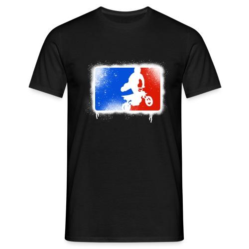 Pit bike's rider - T-shirt Homme