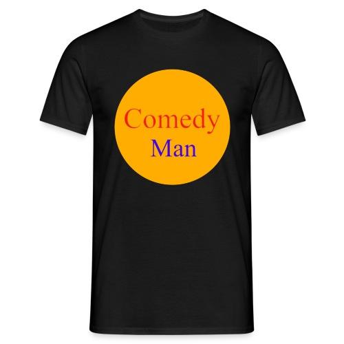 comedy man logo - Mannen T-shirt