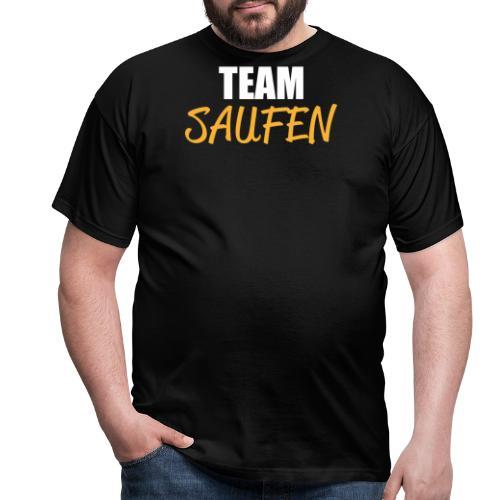 Team saufen Shirt - Männer T-Shirt