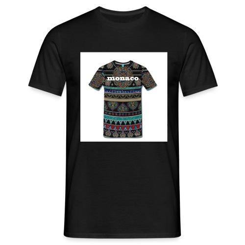 monaco mandala colores - Camiseta hombre