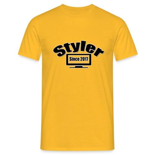 Styler Designer Kleding - Mannen T-shirt