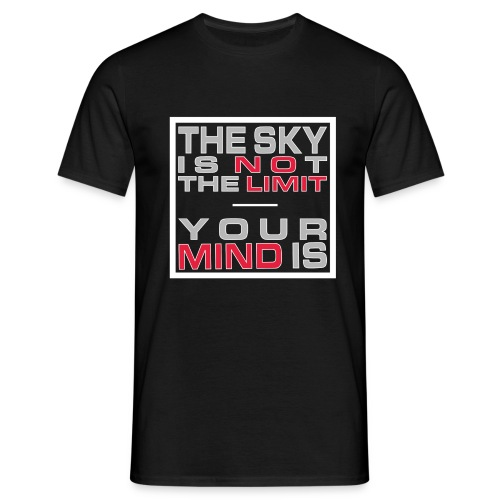 No Limit Mind - Männer T-Shirt