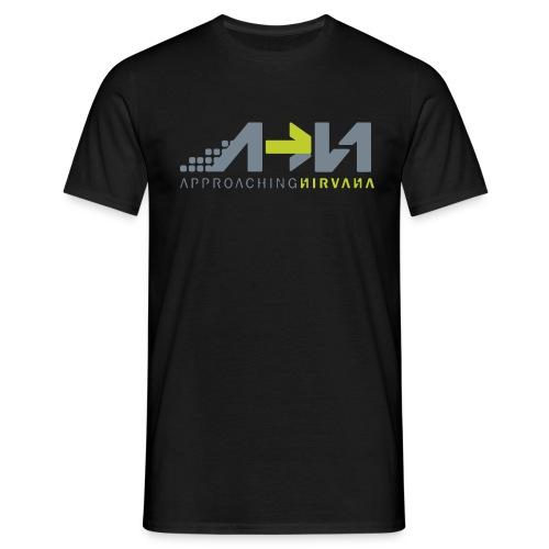 Black Shirt Logo no color swatch png - Men's T-Shirt
