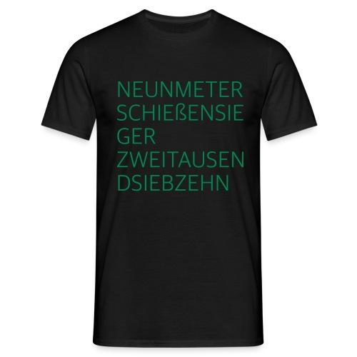 9-Meter Sieger 2017 - Männer T-Shirt