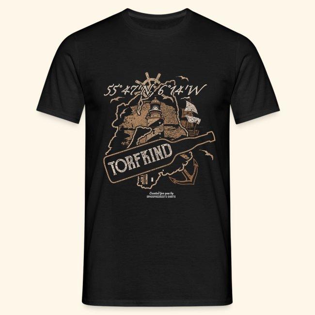 Whisky T Shirt Torfkind für Islay-Fans