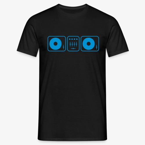 Simple DJ Turntables - Männer T-Shirt