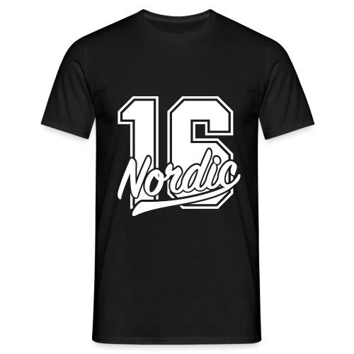 sixteen w png - Männer T-Shirt