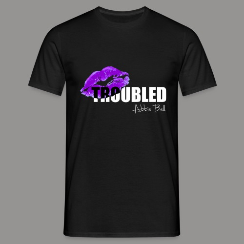 Official TROUBLED logo - Men's T-Shirt