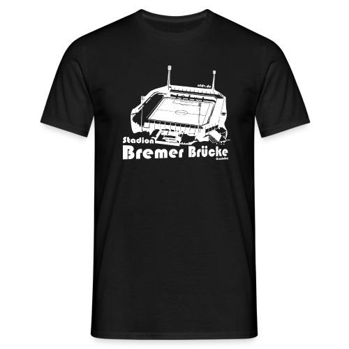 Bremer Brücke Weiss - Männer T-Shirt