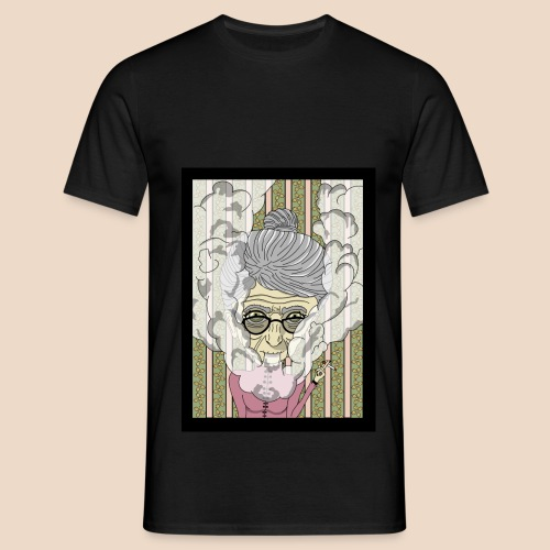 Dame Fumeuse - T-shirt Homme