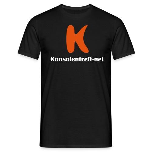Logo vorne gross - Männer T-Shirt