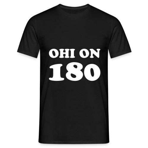 Ohi on 180 cooper - Miesten t-paita