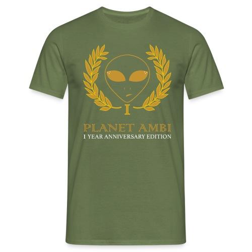 ambi anniversary - Men's T-Shirt