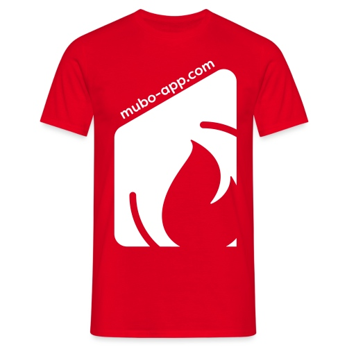 mubo box white - Men's T-Shirt