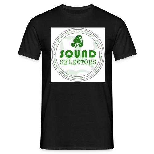 Soundselectors Green Logo 1 - Männer T-Shirt
