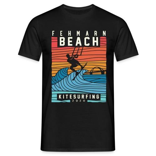 Fehmarn - Kitesurfen - Männer T-Shirt