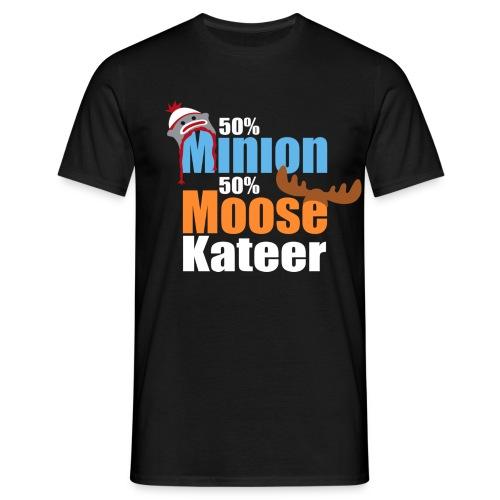 50% Minion 50% MooseKateer - Men's T-Shirt